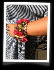 Blomster som armbånd