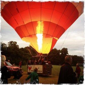 luftballon i morgengave