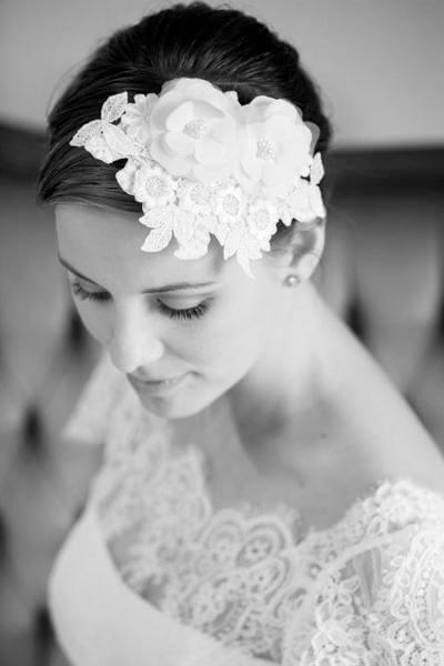Headpiece fra Celina Christensen