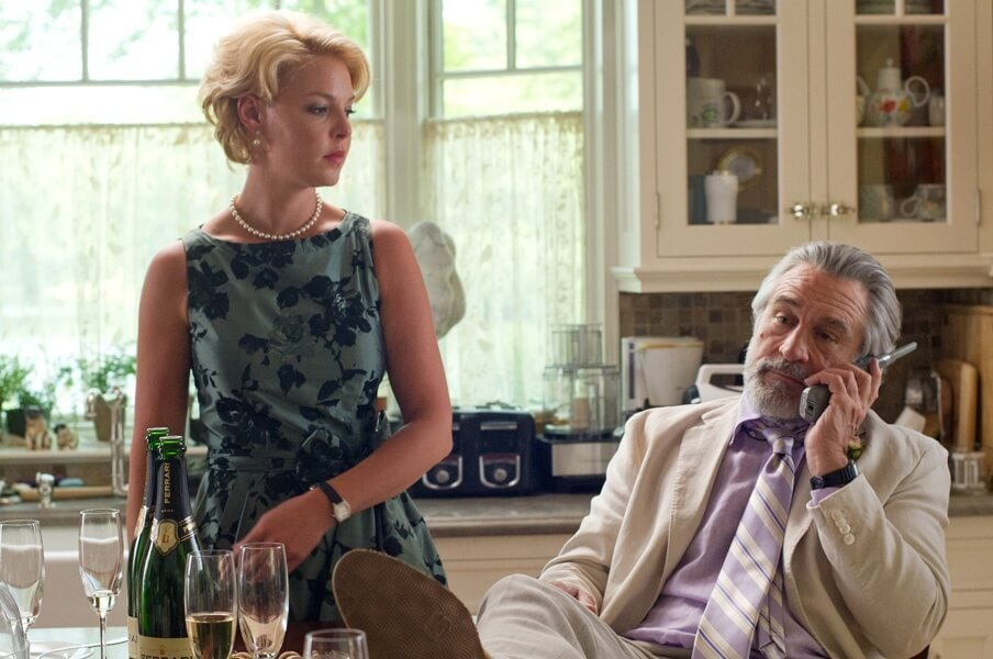 The Big Wedding Robert Dinero og Katherine Heigl