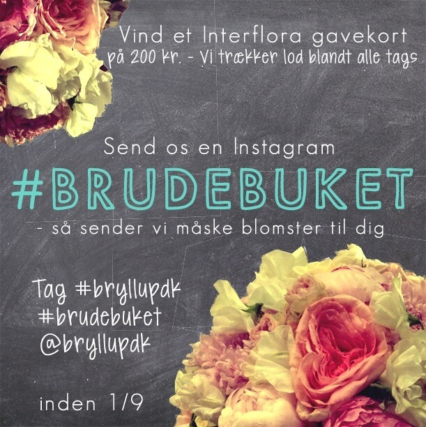 instagram brudebuket konkurrence