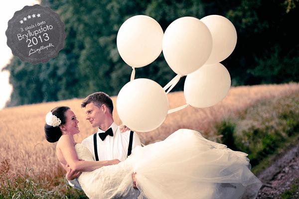 3.plads Årets Bryllupsfoto 2013