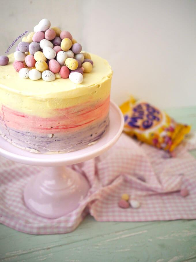 easter-mini-egg-ombre-cake