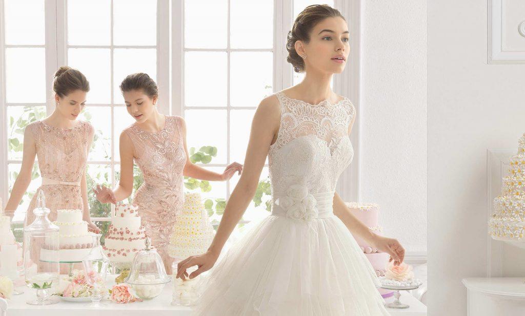 brudekjoleprøvning
