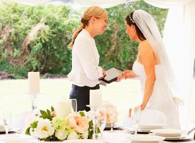 Professionel bryllupskoordinator